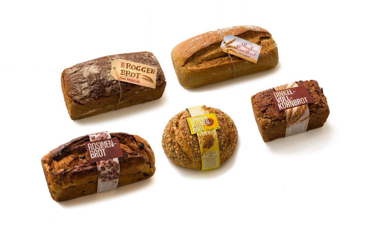 Bäckerei-Remke-Brot-Banderolen