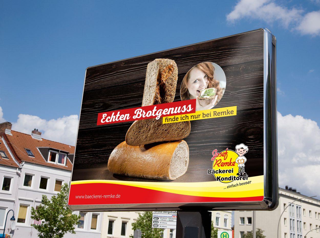 Bäckerei-Remke-Plakat-Brotgenuss