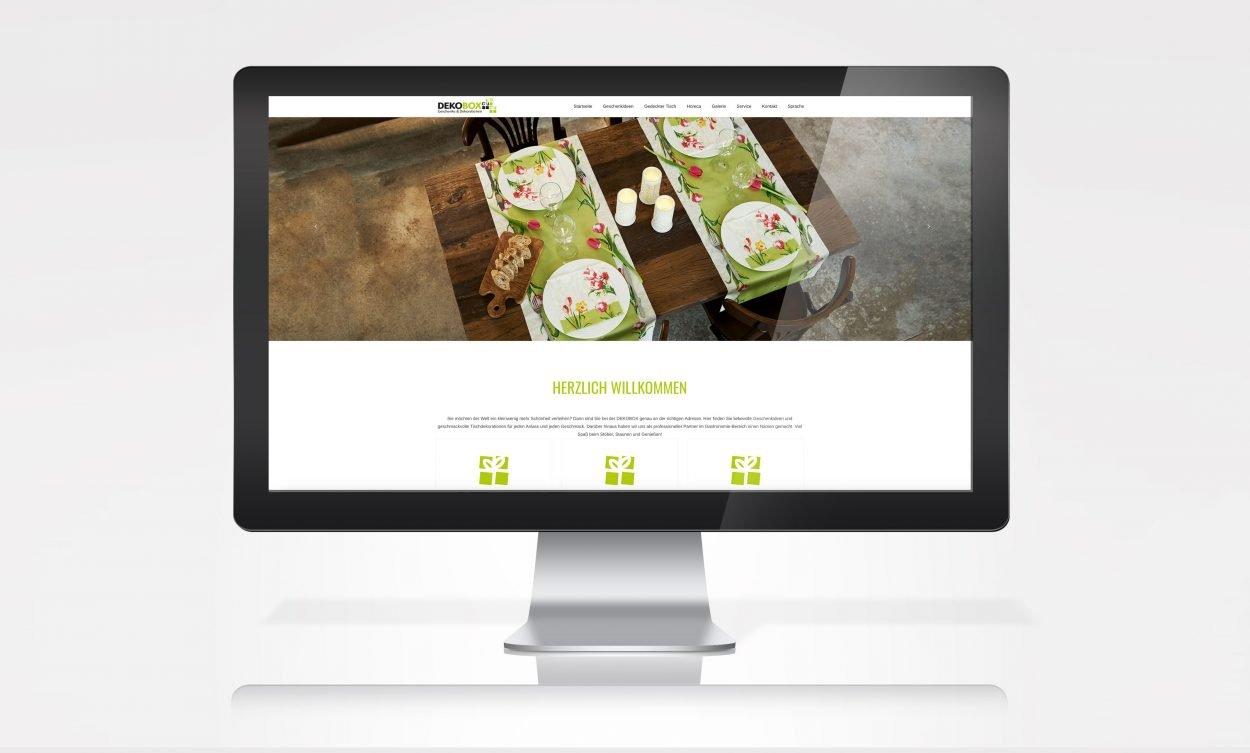 Dekobox-Website-Start