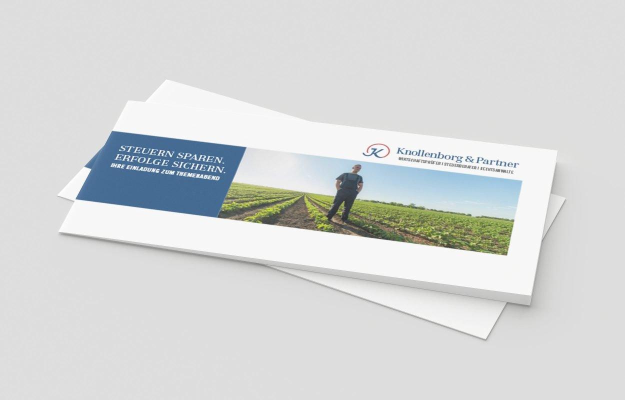 Knollenborg-&-Partner-Einladung