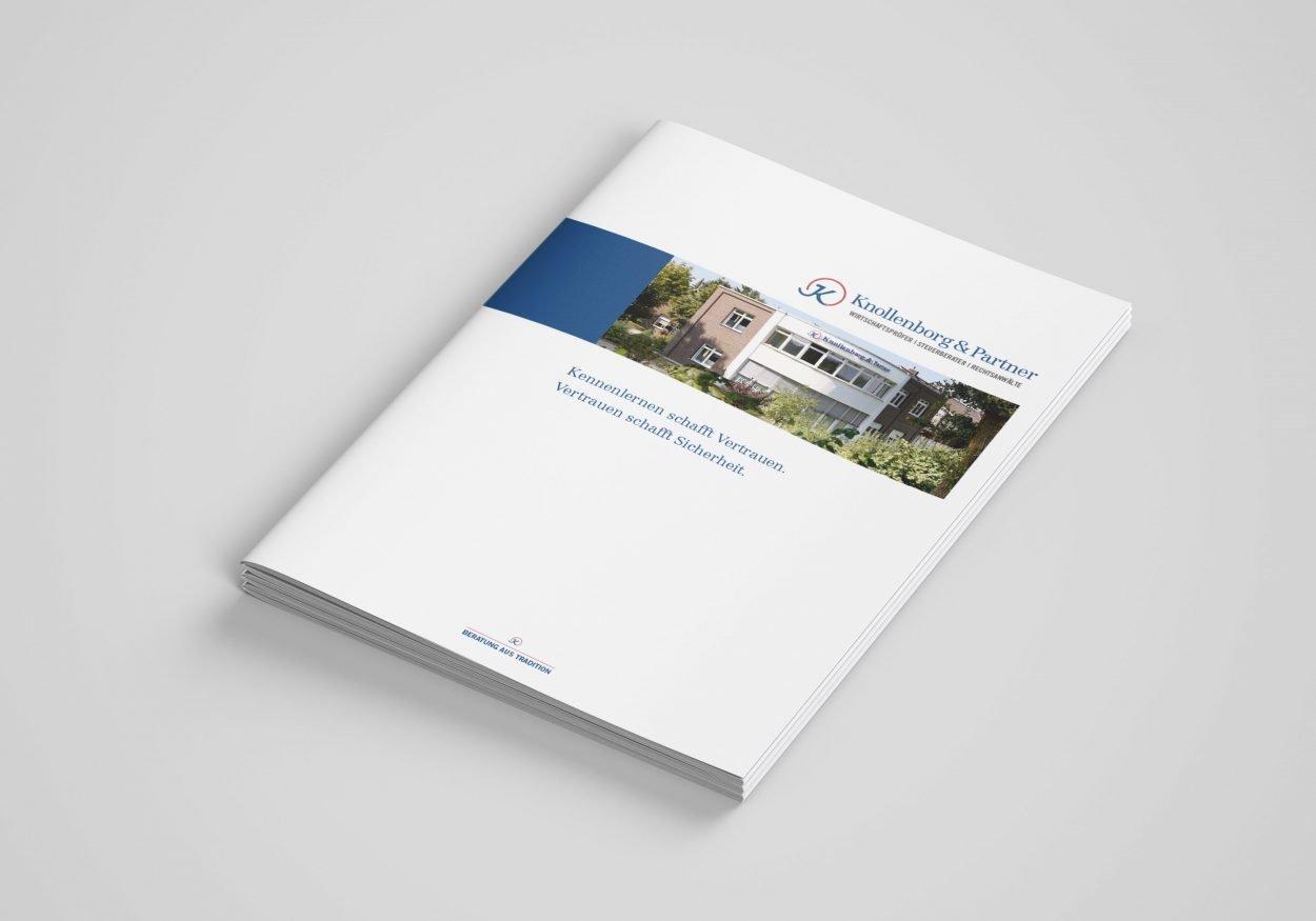 Knollenborg-&-Partner-Imagebroschuere-Titel