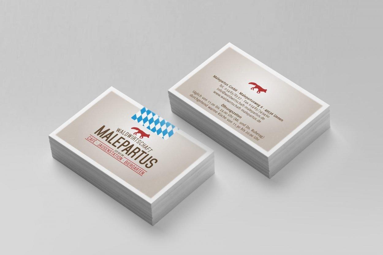 Visitenkarte Malepartus